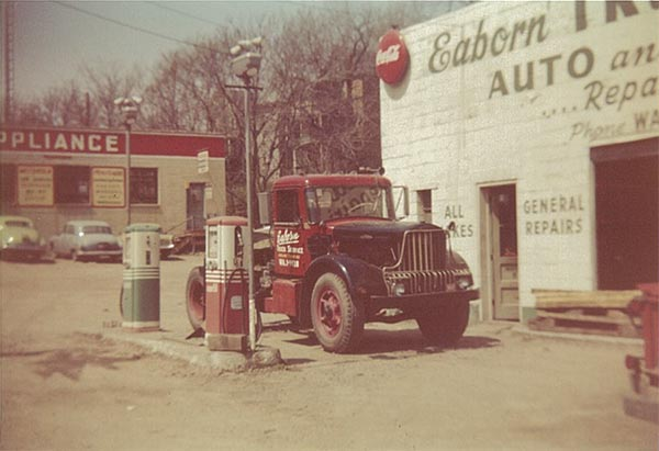 Eaborn's have been operating trucks in the trucking industry since 1942 and has been operating as a Common Carrier since 1959.
